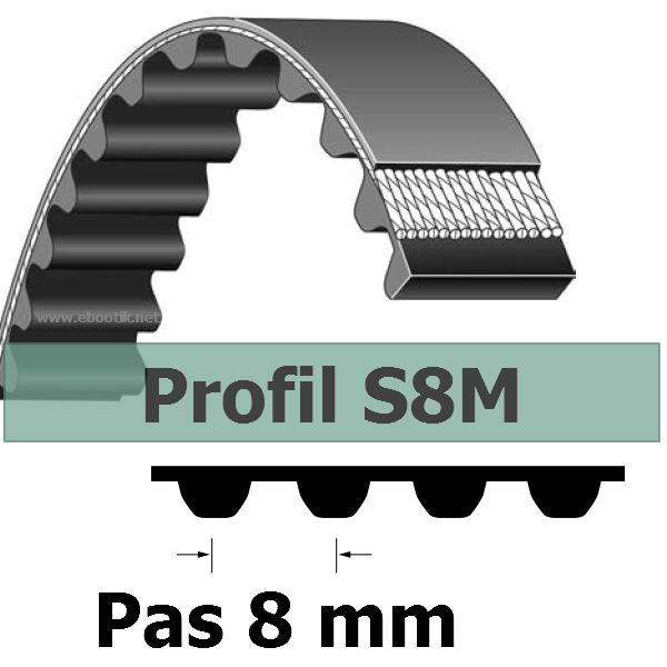 Courroie Crantée S8M528-13 mm