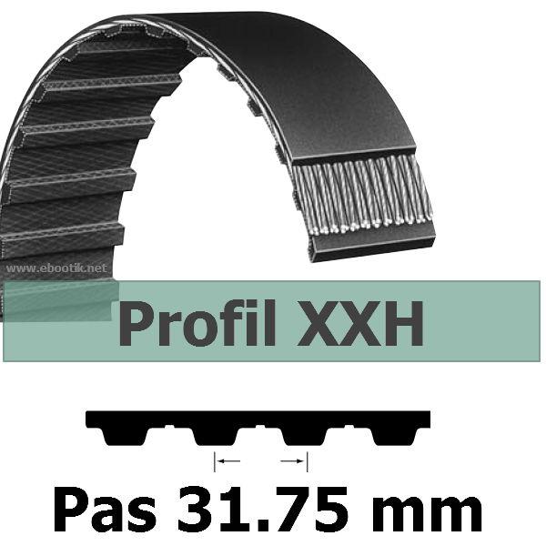 COURROIE DENTEE 700XXH300 PAS 31.75 mm / LARGEUR 76.2 mm