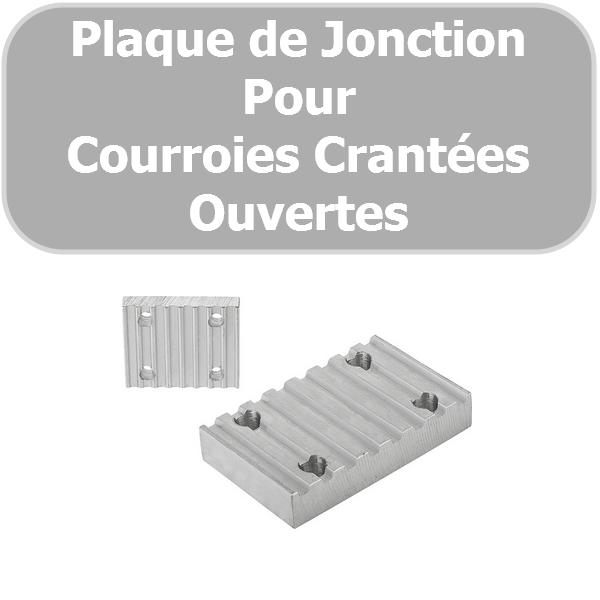 Plaque de JONCTION 5M-10 mm ALUMINIUM