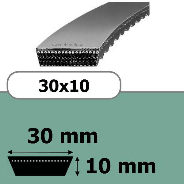 COURROIE VARIATEUR 30x10x650