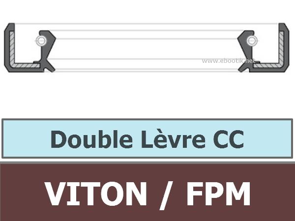9.52X22.22X6.35 CC FPM/VITON