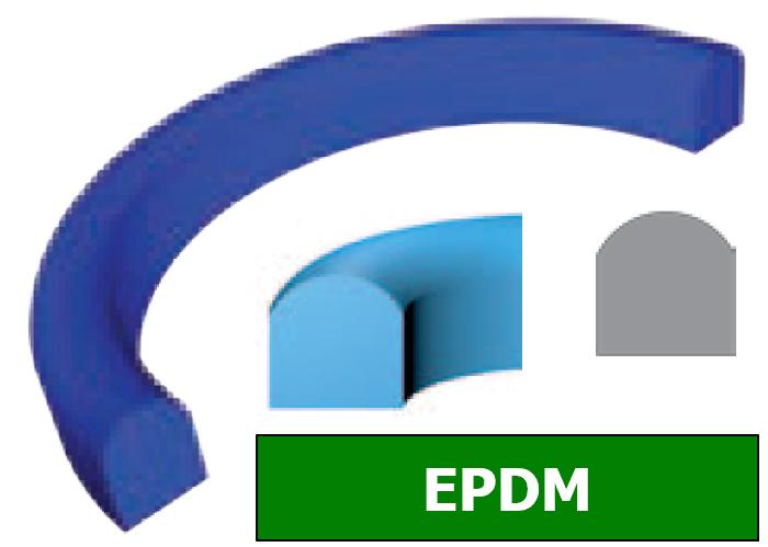 Joint Aseptique HS-10 12x20x4.5 mm EPDM Noir DN10
