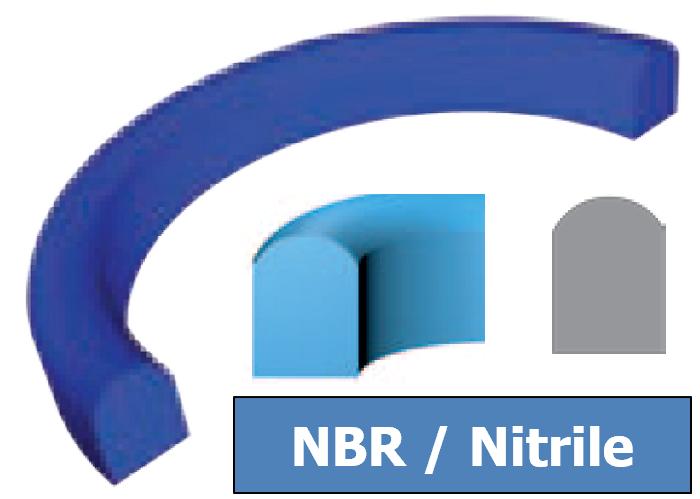 Joint Aseptique HS-11 71x81x6.5 mm NBR Bleu DN65