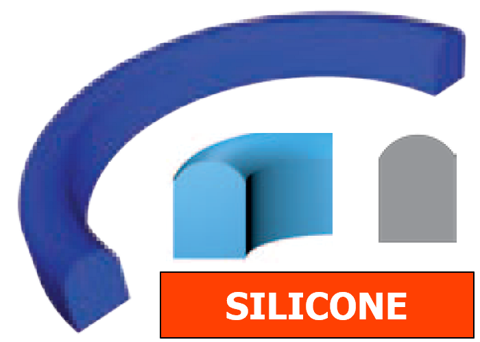 Joint Aseptique HS-11 30x40x8 mm Silicone transparent DN25