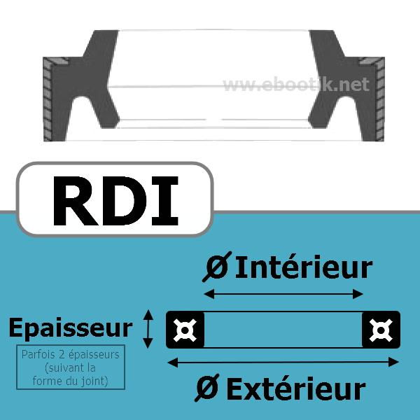 JOINT RACLEUR 14X22X4/5.5 <br>RDI NBR/Nitrile Noir