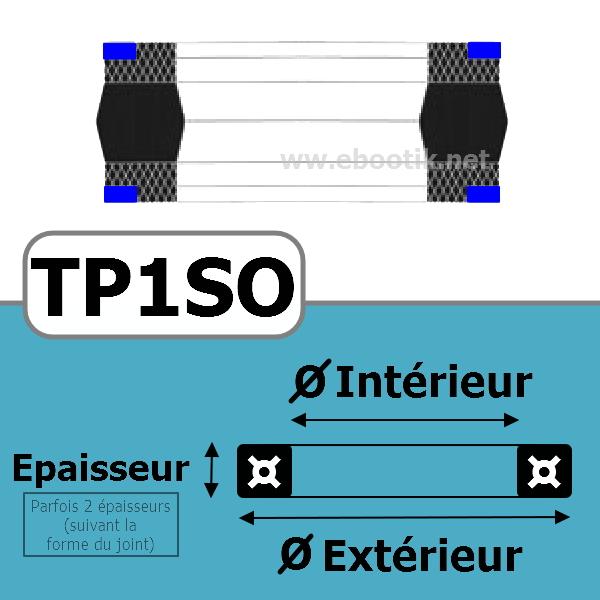 JOINT TETE DE PISTON 101.60x82.55x22.7SO TP1 NBR