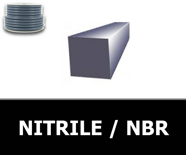 CORDE CARREE 2.00 mm NBR/NITRILE 80 Shores
