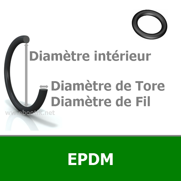 JOINT TORIQUE 0.74x1.02 EPDM 70 AS001