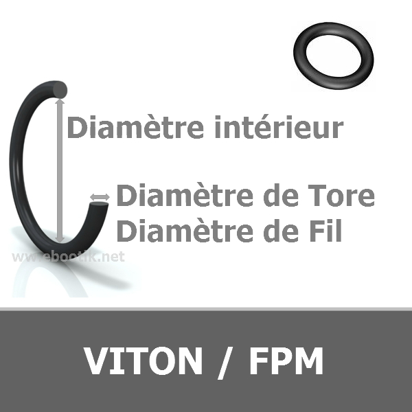 7.60x2.62 mm FPM/VITON 80 AS109