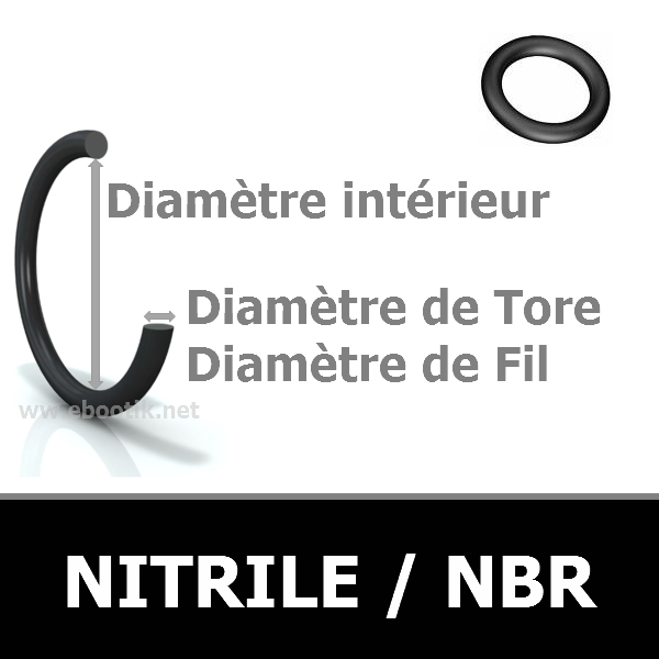 76.00x6.00 JOINT TORIQUE NBR 90 SHORES
